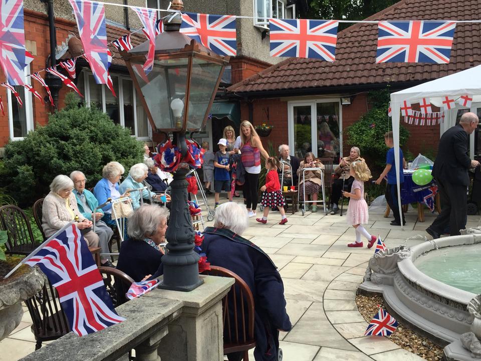 The Queen's Birthday Garden Party